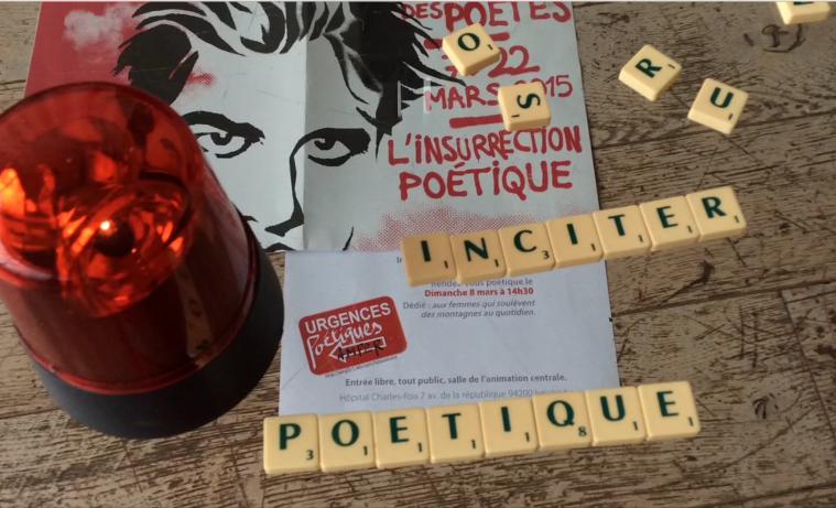 Scrabble d' insurrection d'Anne-Marie Pédezert